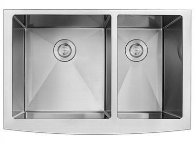SER92005 Apron Double Bowl Stainless Steel Sink