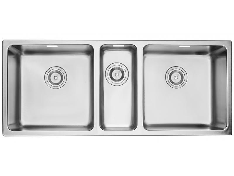 TMP930CEC Three Bowl Stainless Steel Kitchen Sink