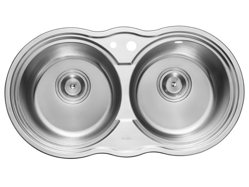 RIP92001 Double Bowl Stainless Steel Kitchen Sink
