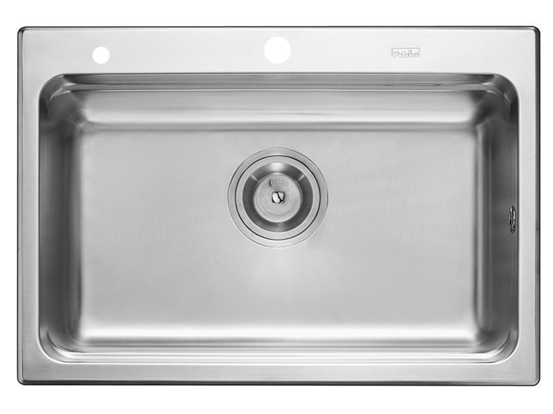 DNP8102 Rectangular Single Bowl Kitchen Sink